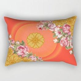 Forever Flowers Rectangular Pillow