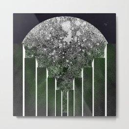 City Moon Metal Print