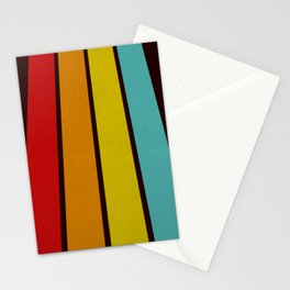 Retro Lines Stationery Cards