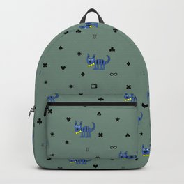 Bob The Cat All Over The Place Backpack