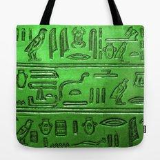 Hieroglyphs 2014-1023 Tote Bag