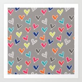 Blow Me One Last Kiss Art Print