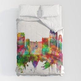 Orlando Florida Skyline Comforters