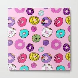 Donuts Dreams Metal Print