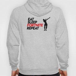 Eat Sleep Fortnite Repeat Hoody