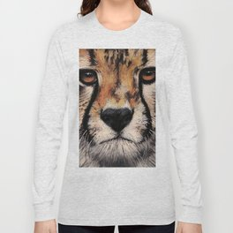 Cheetah, Savannah Hunter Long Sleeve T-shirt