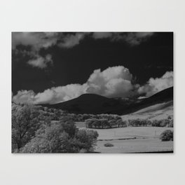 The Hills, 01 Canvas Print
