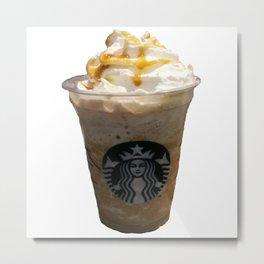 Caramel Macchiato Starbucks Metal Print