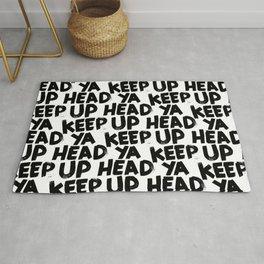 keep ya head up Rug