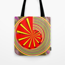 spinning abstraction Tote Bag