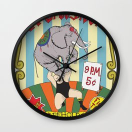 The Strongest Man in the World Wall Clock