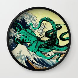 Great Octo-Wave Wall Clock