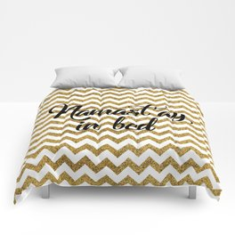 Namast'ay in bed Comforters