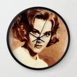 Jane Fonda Wall Clock