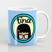 daria Mugs featuring Tina by Page394