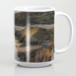 Three Cliffs and The Great Tor Coffee Mug