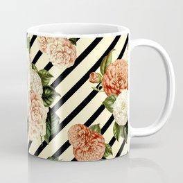 Chrysanthemum Rain Coffee Mug