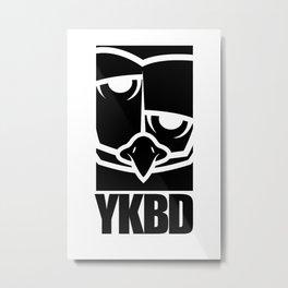 YKBD LOGO SHIRT Metal Print