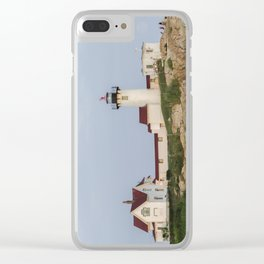 Eastern Point Lighthouse Aug2017 Clear iPhone Case