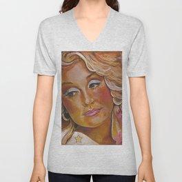 Dolly Parton Unisex V-Neck