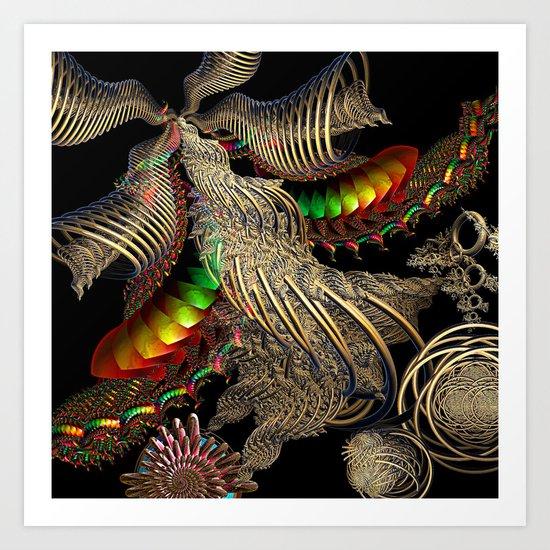 All That Glitters...... Art Print