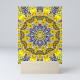 Lavender Star Mini Art Print