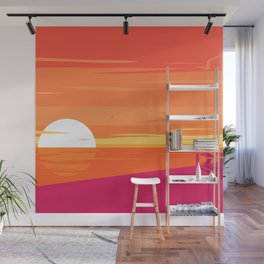 A Glorious Sunset  Wall Mural