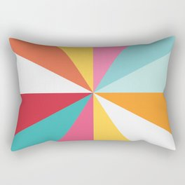 Color Wheel Rectangular Pillow