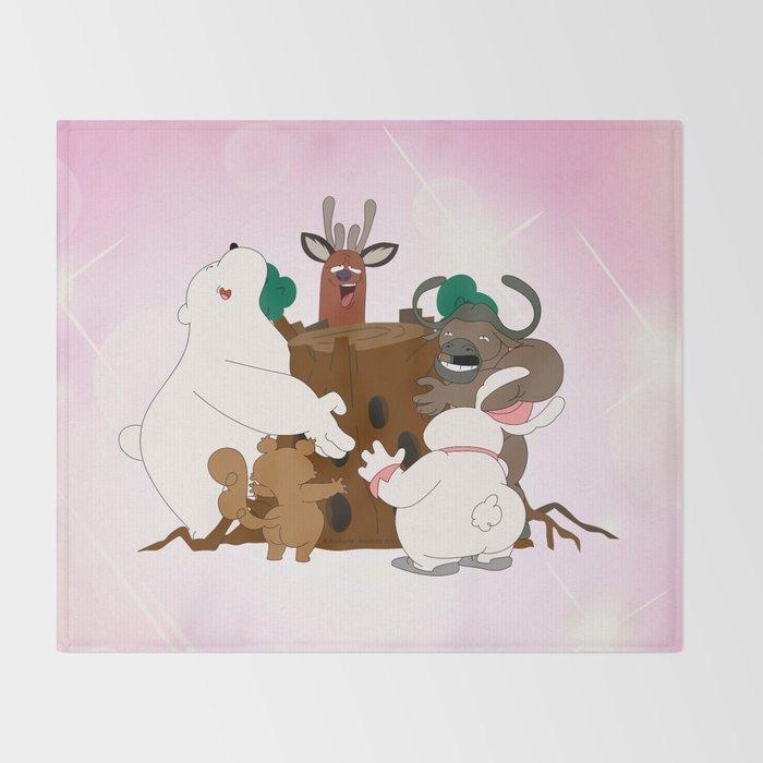 The Magic Tree (Peepoodo) Throw Blanket