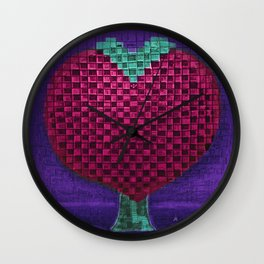 Tree Heart for Lovers Wall Clock