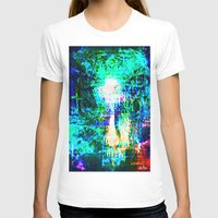 "hologram T-shirts featuring "" The voice  is a second face"" by shiva camille"