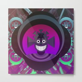 Big Smile Metal Print