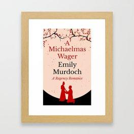 A Michaelmas Wager Framed Art Print