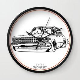 Crazy Car Art 0210 Wall Clock