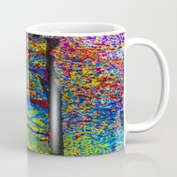 chaos Mugs featuring Chaos by Claire Doherty