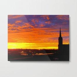 The Historic Church of St. Patrick - Sunset #1 Metal Print