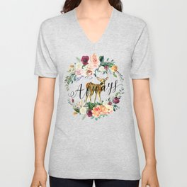 Always - Fawn Unisex V-Neck