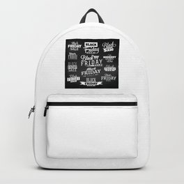 Its Black Friday Backpack