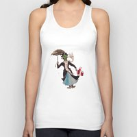 mary poppins Tank Tops featuring Zombie Mary Poppins by Brendan Purchase