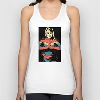 captain silva Tank Tops featuring Captain by Shop 5