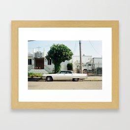 Preachers Love Their Cadillacs Framed Art Print