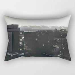 Bournemouth by Night Rectangular Pillow