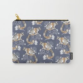 Numbats Blue Carry-All Pouch