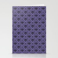 haunted mansion Stationery Cards featuring Haunted Mansion Wallpaper by MiliarderBrown