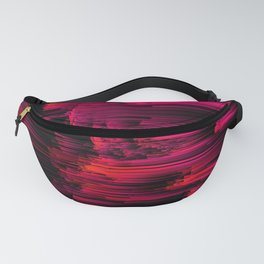 Burnout - Glitch Abstract Pixel Art Fanny Pack