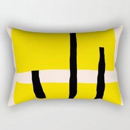 Yellow dream Rectangular Pillow