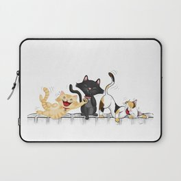 CATS DEAD OF LAUGHTER Laptop Sleeve