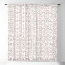 Art Deco Marble & Copper Blackout Curtain