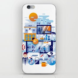 The process (2017) iPhone Skin