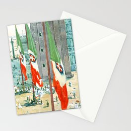 Piazza di San Marco by Maurice Prendergast Stationery Cards